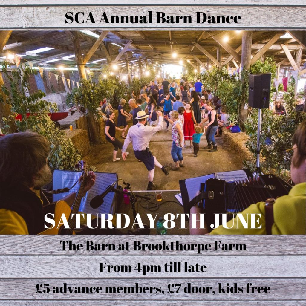 barn dance announcement